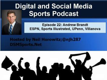 Sports Illustrated and ESPN Columnist Andrew Brandt